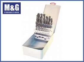 25-piece High Speed Metric Jobber Drill Set