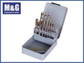 14-Piece Spiral Fluted Tap and Spiral Point tap Set